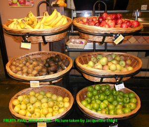 Fruits available at UBC